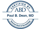 Grossmont Dermatology Medical Clinic member of American Board of Dermatology cetified - Paul B. Dean, MD La Mesa, CA